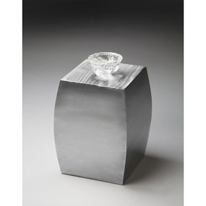 Modern Expressions Stainless Steel Accent Table