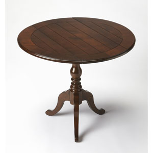 Dunlay Cherry Drop-Leaf Table