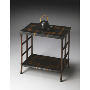 Metalworks Penn Shell Accent Table