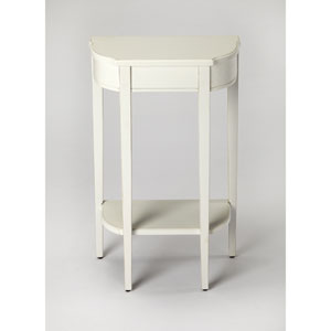 Wendell Cottage White Console Table
