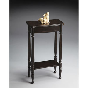 Masterpiece Rubbed Black Console Table