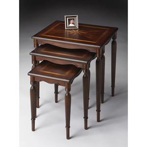 Plantation Cherry Cherry Nesting Tables