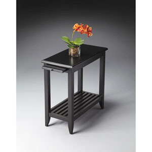 Butler Loft Black Licorice Chairside Table