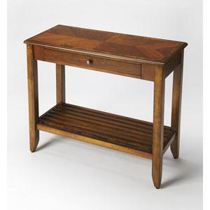 Irvine Olive Ash Burl Console Table