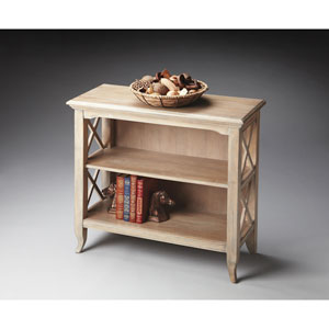 Masterpiece Driftwood Low Bookcase