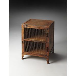 Lucas Brown Chairside Chest