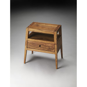 Stockholm Wood Side Table