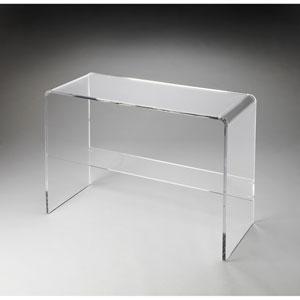 Crystal Clear Acrylic Console Table