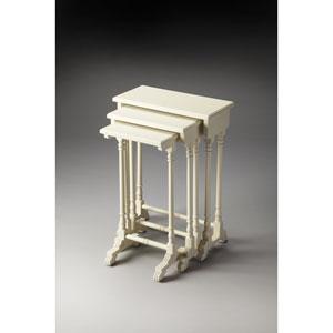 Dunham Cottage White Nesting Tables