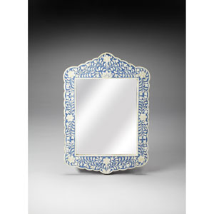 Blue Bone Inlay Wall Mirror