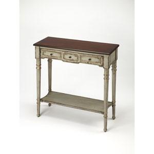 Banham Antique Gray Console Table