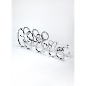 Silver Wine Rack