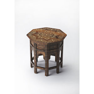 Brown Accent Table