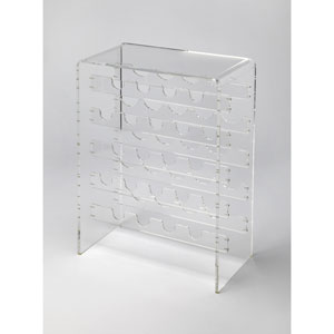 Crystal Clear Acrylic Wine Rack