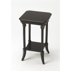 Darla Black Licorice End Table