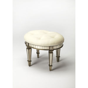 Garbo Mirrored Vanity Stool