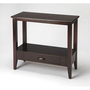Barclay Merlot Console Table
