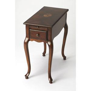Croydon Plantation Cherry Chairside Table