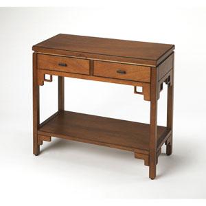 Honshu Caramel Console Table