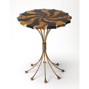 Pinwheel Pen Shell Accent Table