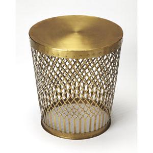 Oliver Antique Gold End Table