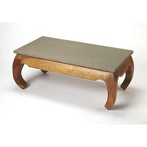Butler Chandu Concrete and Wood Coffee Table