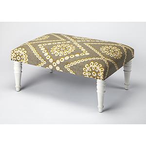 Butler Lucinda Upholstered Cocktail Ottoman