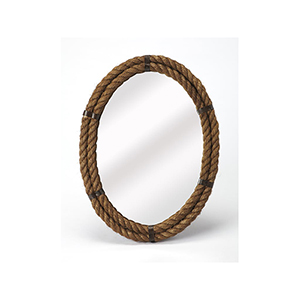 Butler Darby Oval Rope Wall Mirror