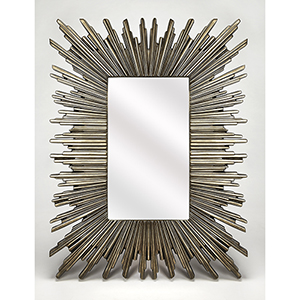 Butler Sao Paulo Silver Wall Mirror