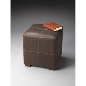 Modern Expressions Brown Bunching Ottoman