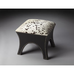 Modern Expressions Cowhide Ottoman