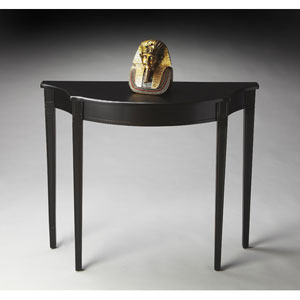 Masterpiece Black Licorice Console Table