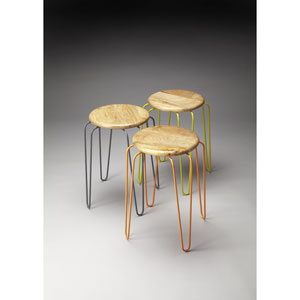 Easton Tan Stackable Stools