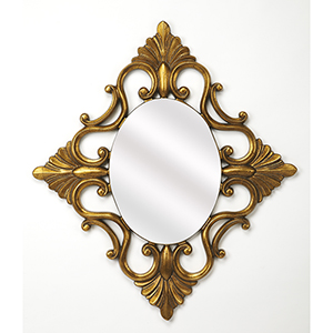 Butler Calais Gold Wall Mirror