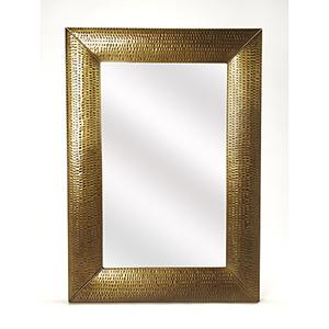 Butler Lehigh Hammered Gold Wall Mirror
