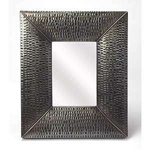 Butler Lehigh Hammered Iron Wall Mirror