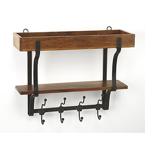 Butler Lester Industrial Chic Wall Rack