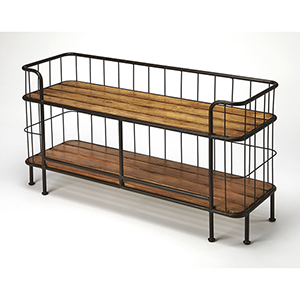 Butler Delmond Industrial Chic Console Table