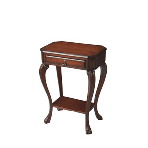Plantation Cherry Single Drawer Console Table