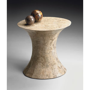 Heritage Full Stone Veneer Side Table