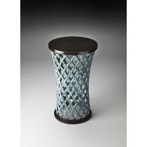 Pierce Blue Accent Table
