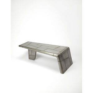 Yeager Silver Cocktail Table