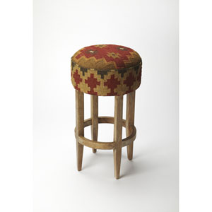 Las Cruces Kilim Bar Stool