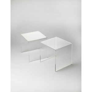 Crystal Clear Acrylic Table