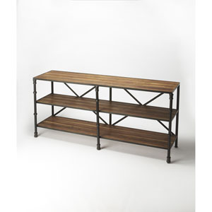 Auvergne Brown Display Console Table