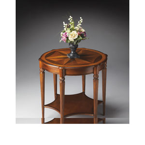 Masterpiece Olive Ash Burl Accent Table