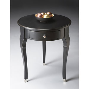 Black Licorice Single Drawer Side Table