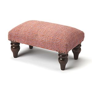 Butler Berino Pink Upholstered Stool