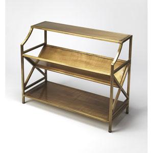 Keats Antique Gold Bookcase