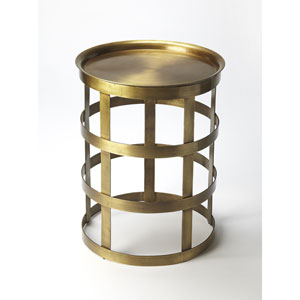 Regis Gold Accent Table